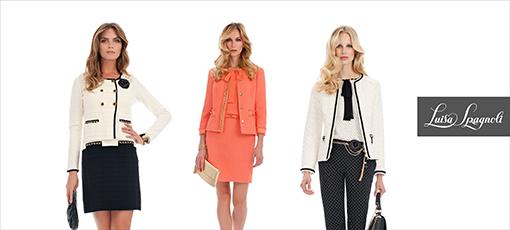 e111aa6b1a9 Ереванский бутик всемирно известного итальянского бренда Luisa Spagnoli  обновляет коллекцию модной женской одежды весна-лето 2014.